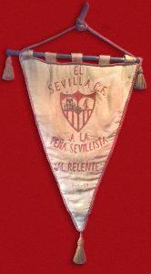 Banderín Sevilla FC. 1/3/1959